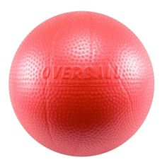 This small ball is 9 inches in diameter and has a soft easy-grip texture. The Soft Gym OverBall can be used to prompt correct body position and muscle activation while doing exercises. Great tool for Pilates, pelvic core exercises, resistance training, sh Orthopedic Physical Therapy, Do Exercise, Exercise Balls, Benefits Of Running, Stability Ball, No Equipment Workout, Fitness Equipment, Pilates Workout, Yoga Fitness