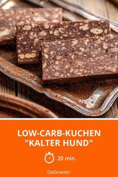 "Low-Carb-Kuchen ""Kalter Hund"" - smarter - Zeit: 20 Min.   eatsmarter.de"
