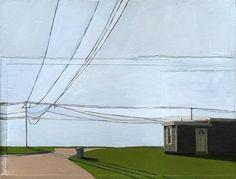 Leah Giberson painting.