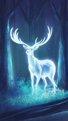Expecto Patronum - Expecto Patronum – You are in the right place about Expecto Patronum Tattoo Design And Style - Harry Potter Tumblr, Harry Potter Love, Harry Potter Universal, Harry Potter Memes, Mythical Creatures Art, Fantasy Creatures, Harry Potter Expecto Patronum, Deer Art, Harry Potter Wallpaper