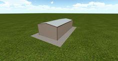 3D #architecture via @themuellerinc http://ift.tt/2n39WMs #barn #workshop #greenhouse #garage #DIY