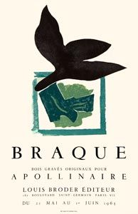 Poster by Braque, 1963