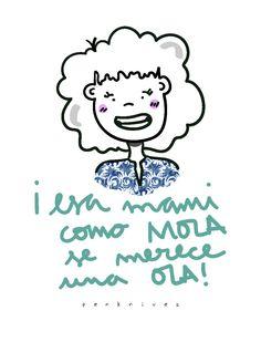 Corta, Pega y Scrapea: ¡Esa mami como mola se merece una ola!