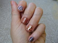 !Blonde nail art PRETTY LITTLE LIARS #prettylittleliars with http://dressapp.tv
