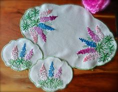 Check out this item in my Etsy shop https://www.etsy.com/uk/listing/487799439/exquisite-hand-embroidered-lupins