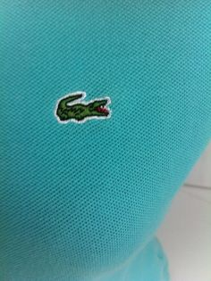 Lacoste polo shirt blue 7 mens gator logo size 2xl recent saks fifth lacoste teal polo shirt 38 6 small short sleeve gator logo lacoste sciox Images