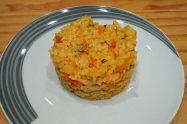 Riz julienne et mozzarella au cookeo