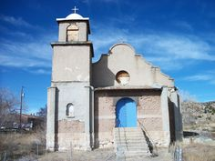 Abandoned church in Lamy, NM