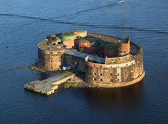 Fort Alexander I - this will be one if the refuges if a zombie apocalypse occurs.
