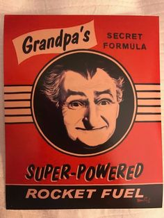 Grandpa Munster's Rocket Fuel Sticker Munsters Tv Show, The Munsters, Horror Art, Horror Movies, Vintage Tv, Vintage Horror, Vintage Halloween, Halloween Labels, Old Tv