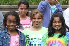 Face Painting group.