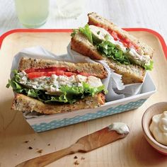 Tarragon Chicken Salad Sandwiches   Fresh tarragon infuses this picnic-perfect chicken salad with lovely anise notes.   Cooking Light