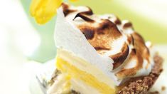 Lemon Meringue Ice Cream Pie in Toasted Pecan Crust Recipe