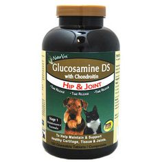 NATURVET GLUCOSAMINE DS WITH CHONDROITIN TABLETS 150CT - BD Luxe Dogs & Supplies
