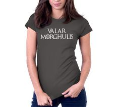 Valar Morghulis T-Shirt | Mens | Womens | Kids | NoiseBot.com
