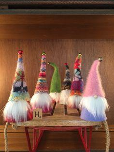 Mini-schwedische Gnomen Set von 6 niedlich von Gnomes4theHolidays