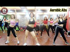 25 Menit Pengurangan aerobik dari lemak perut dengan cepat l Latihan aer. Tae Bo Workout, Workout Music, Zumba Fitness, Fitness Tips, Cardio, Aerobics Workout, Slim Waist, Workout For Beginners, Lose Belly Fat