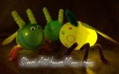 Easter Egg Lightening Bugs #craft #easter