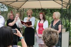 And the second daughter had her Naming Ceremony at home as well.