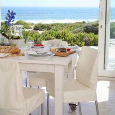 Esszimmer Wohnideen Möbel Dekoration Decoration Living Idea Interiors home dining room - Laid-back Küsten Essbereich