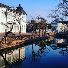【倉敷美観地区】 Okayama, Kyoto Japan, Mirror Image, Mansions, House Styles, Photography, Photograph, Villas, Photo Shoot