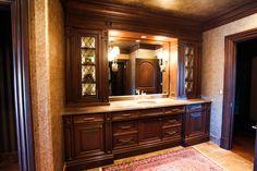 Projects | Village Cupboards Gentleman's master bathroom vanity