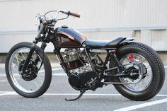 Garage Project Motorcycles - This bike is a customised Yamaha SR400 in the...