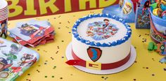 Learn how make a PAW Patrol Birthday Cake, a totally paw-some cake for a pre-school birthday party. Bolo Do Paw Patrol, Paw Patrol Cake, Paw Patrol Birthday, 3rd Birthday Cakes, My Son Birthday, Boy Birthday Parties, Birthday Ideas, School Birthday, Kid Parties