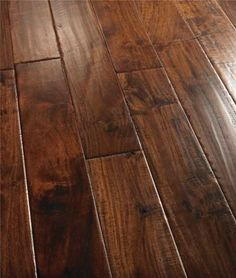 Bedroom Wood Floor Decor Dark Hardwood Ideas For 2019 Floating Hardwood Floor, Hardwood Floor Colors, Maple Hardwood Floors, Refinishing Hardwood Floors, Dark Hardwood, Laminate Flooring, Engineered Hardwood, Grey Laminate, Floating Floor