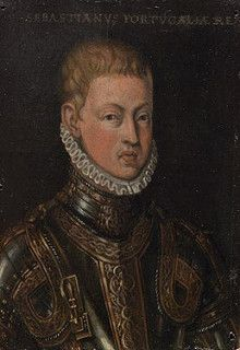 Rei D. Sebastião de Portugal, c. 1571-1574, probable copy of the original by Cristóvão de Morais