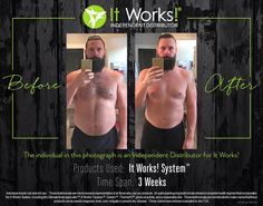 Get rid of toxins in your body and not only see amazing results, but feel amazing too! Fitness Before And After Pictures, It Works Wraps, It Works Distributor, Independent Distributor, H Words, It Works Products, Beauty Products, Products