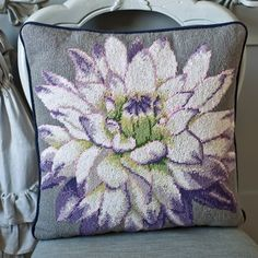 White Dahlia - Ehrman Tapestry