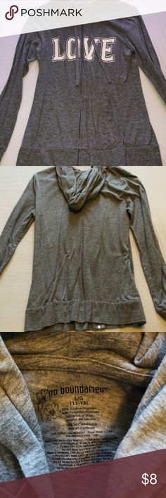 Zip up sweater In perfect condition:) In the size Large, fits like a small. Sweaters