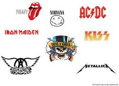 With Logaster Online Branding Tool You Can Quickly and Efficiently Create a Logo for Your Company. Join Now, Already over 7 Million Logos Have Been Created by Our Clients! Music Logo Inspiration, Magazine Design Inspiration, Logo Design Inspiration, Rockband Logos, Guns N' Roses, Artist Logo, Branding Tools, Name Letters, Online Logo