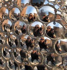 Mirror Egg Reflections by LollyKnit, via Flickr