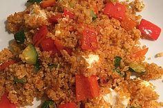 Bulgur - Gemüse - Pfanne