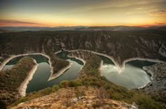 Uvac River Canyon in Serbia