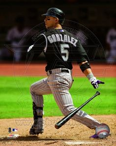 Colorado Rockies - Carlos Gonzalez Photo