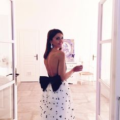 Got your back: Lovely Pepa Open Back Dresses, Nice Dresses, Wedding Guest Outfit Inspiration, Style Inspiration, Latin Wedding, Big Bows, Classy Outfits, Evening Gowns, How To Wear