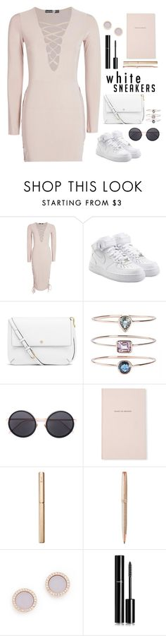 """Golden Years"" by laslow ❤ liked on Polyvore featuring NIKE, Tory Burch, 19Fifth, Linda Farrow, Kate Spade, ystudio, Parker, Michael Kors and Chanel"