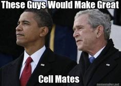 These guys would make great cell mates: My #Politics