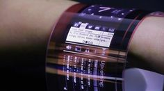 Flexible OLED Wearables