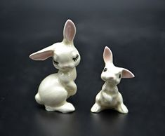 Miniature Figurines, Easter Bunny, Bunnies, Garden Sculpture, Rabbit, My Etsy Shop, Miniatures, Animals, Vintage