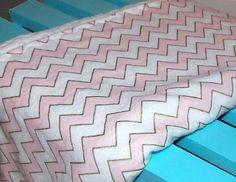 Baby Blanket Pink & Gold Baby Blanket Pink by DarlenesNeedlesnPins
