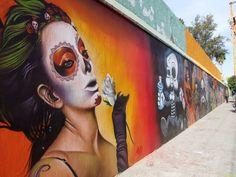 grafflicks:    Day of the Dead Graffiti