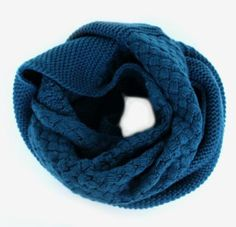 Snuggle up with this textured loop scarf <3 $28