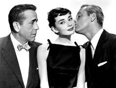 Sabrina - such a great cast! Humphrey Bogart, Aubrey and William Holden. Billy Wilder directed.