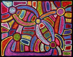 Solve aboriginal art jigsaw puzzle online with 130 pieces Aboriginal Dot Painting, Aboriginal Artists, Aboriginal Art For Kids, Kunst Der Aborigines, Aboriginal Culture, Arte Tribal, Australian Art, Aboriginal Art Australian, Indigenous Art