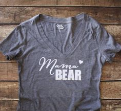 Hey, I found this really awesome Etsy listing at https://www.etsy.com/listing/229710376/mama-bear-shirt-mama-bear-vneck-shirt