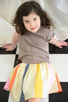 Rainbow Skirt | Olive Juice